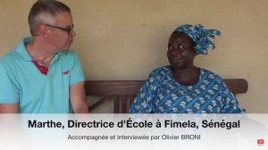 Marthe EFT école Sénégal