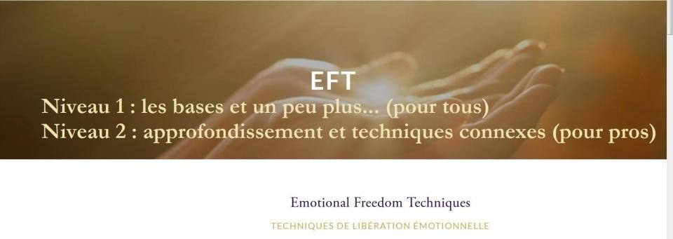 EFT formation CFKB niveaux 1 et 2